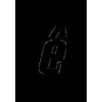 Glyph 186