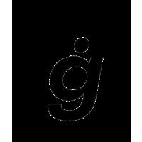 Glyph 163