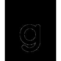 Glyph 245