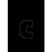 Glyph 171